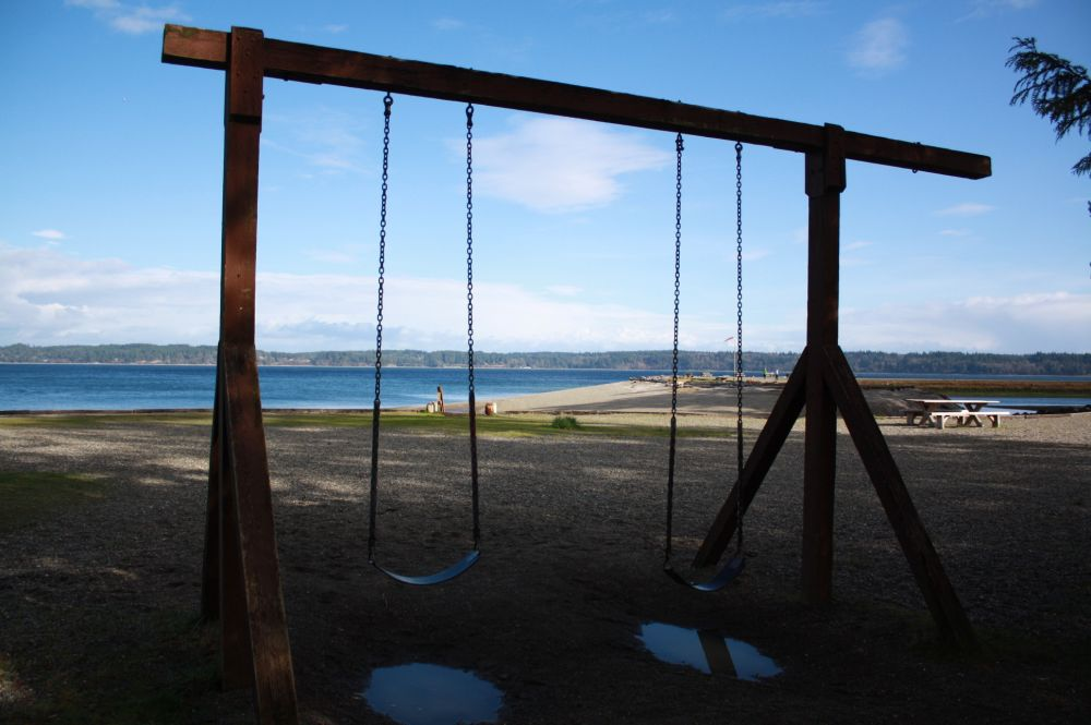 North Beach Swings
